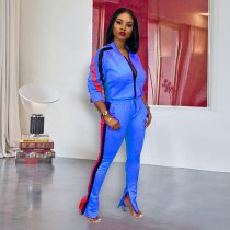 WGW Casual Tracksuit Long Sleeve Two Piece Pant Sets ME370