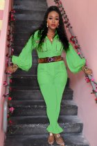 WGW Plus Size Patchwork One Piece Jumpsuits Without Belt DM8095