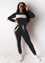 WGW Casual Tracksuit Long Sleeve Two Piece Pant Sets TEN3391