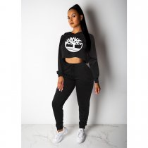 WGW Casual Tracksuit Hoodies Two Piece Sets SHE7153