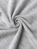 DJT Women's Color Block High Waist Comfy Long Maxi Skirt with Pockets