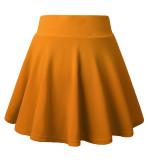 DJT FASHION Women's Basic Flared Casual Mini Skater Skirt with Shorts