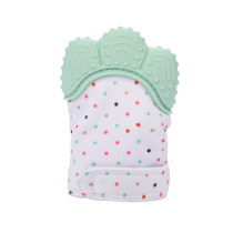 CkeyiN Teething Mitten Silicone Mitten Teether Baby Teething Glove Infant Newborn Teether