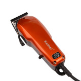 CkeyiN Plug Use Electric Power Adjustable Hair Trimmer Hair Clipper Haircut Machine
