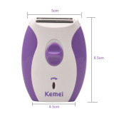 CkeyiN Women Electric Shaver Hair Removal Hair Clipper Epilator Bikini Shaving Machine Razor Depilation Remover,Mini Lady Electric EyeBrow Trimmer Body Face Hair Remover Shaver Use