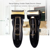 CkeyiN Dual-Blade Electric Shaver Rechargeable Shaving Razors for Men