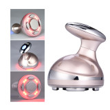 Ckeyin Portable Ultrasonic Body Slimming Massager LED RF Therapy Fat Removal Electric Beauty Device