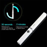 CkeyiN  Portable Sonic Electric Toothbrush USB Rechargeable Waterproof Electric Toothbrush with 2 Brush Heads for Adults