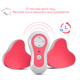 CkeyiN Electric Breast Massage Rechargeable Breast Enlargement Anti-Chest Sagging Device with Auto-off Function