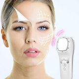 CkeyiN Portable Hot and Cold Facial Massager Ultrasonic Vibration LED Photon Therapy Skin Care Beauty Instrument