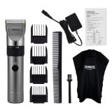 CkeyiN Professional Rechargeable Hair Clipper Trimmer Hair Cutting Kit with Global Universal Voltage