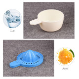 CkeyiN 6 in 1 Hand Juicer Multifunctioal Fruits Squeezer