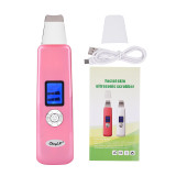 CkeyiN Electric Ultrasonic Beauty Instrument Negative and Positive Ion EMS Micro-current Skin Cleaning Device