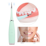 CkeyiN Electric Plaque Remover Alloy Steel Portable Toothpick Dental Tool Remove Dental Plaque Calculus Teeth Whitening Device