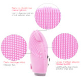 CkeyiN Facial Cute Cleansing Device Brush Sonic Face Cleanser & Massager