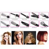CkeyiN 10-in-1 Multifunctional Professional Styling Electric Hair Dryer Hairdryer Set     Volume Styler Hair Styling Brush Comb(Hot Air Styler, Concentrator Nozzle, Hair Pik, Finger     Diffuser, Curling Wand & Curler Styling Tools)