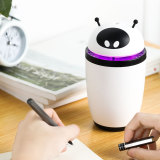 CkeyiN 500mL Portable Air Humidifier Noiseless Humidifier with 7 Color LED
