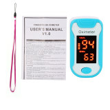 CkeyiN Portable Fingertip Pulse Oximeter Blood Oxygen Saturation Monitor with Lanyard Included