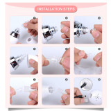 CkeyiN 6 Tips Dermabrasion Peeling Machine Facial Skin Care Massager Beauty Device