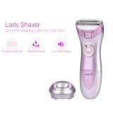 CkeyiN Rechargeable Epilator Women Lady shaver Wet and Dry Satinelle with Shaving All Body Areas