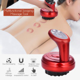 CkeyiN Rechargeable Scraping Detoxification Beauty Device Body Guasha Scrape Therapy Machine Vacuum Suction Massager
