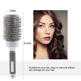 CkeyiN 19mm/25mm/32mm/45mm/53mm Nano Thermal Ceramic Ionic Round Barrel Hair Brush for Hair Drying, Styling, Curling