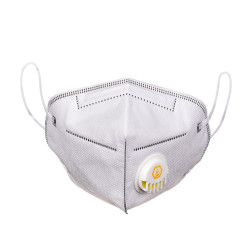CkeyiN Non-woven Face Mouth Mask Anti Haze Dust Pollution Bacteria PM2.5 Filter Particulate Respirator