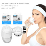 CkeyiN Tap Water Purifier Remove Harmful Substances Household Faucet Mount Filter