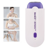 CkeyiN Women Instant Pain Free Rechargeable Hair Remover Epliator with Advanced Sense-Light Technology