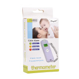 CkeyiN Portable Non-contact Infrared Thermometer Body Object Temperature Measurement Thermometer LCD Digital Display Thermometer