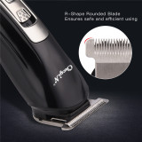 CkeyiN Rechargeable Hair Clipper Handy Haircut Nose Trimmer Cordless Grooming Kit with 4 Limit Combs for Both Adults and Kids