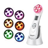 CkeyiN Multifunctional EMS Electroporation Beauty Instrument RF Radio Frequency Beauty Device
