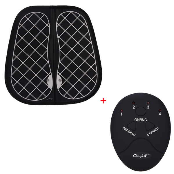CkeyiN Unisex EMS Tens Acupuncture Foot Massager Muscle Stimulator Acupoint Mat Health Care Foot Massage Deep Kneading Shiatsu Therapy