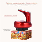 CkeyiN Electric Scraping Cupping Machine | Gua Sha Suction Massager  |Negative Pressure Meridian Therapy Physiotherapy