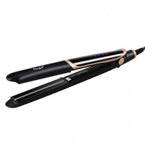 CkeyiN 2 in 1 Far-infrared Hair Straightener Flat Iron Hair Curler Professional Tourmaline Ceramic Anion Hair Styling Tool