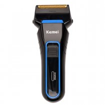 CkeyiN Cordless  Rechargeable Reciprocating Double Blades Electric Shaver for Men