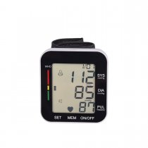 CkeyiN Wrist Electronic Blood Pressure Monitor Blood Pressure Meter with Voice Broadcast
