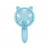 CkeyiN Personal USB Rechargeable Handhold and Desktop Mini Fan with 3 Files Wind Speed Adjustable Handle Cooling Fan