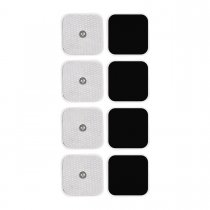 CkeyiN Electronic Pulse Massager Pads 4Pcs for Electrotherapy Pain Management Muscle Stimulator Pads
