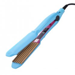 CkeyiN Hair Straightener Hair Crimper Corn Plate Corn Perm Splint Hair Styling Tool Temperature Adjustable Corrugated