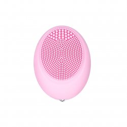 CkeyiN Mini Size Waterproof Sonic Facial Cleaning Brush Silicone Face Cleaner Massager