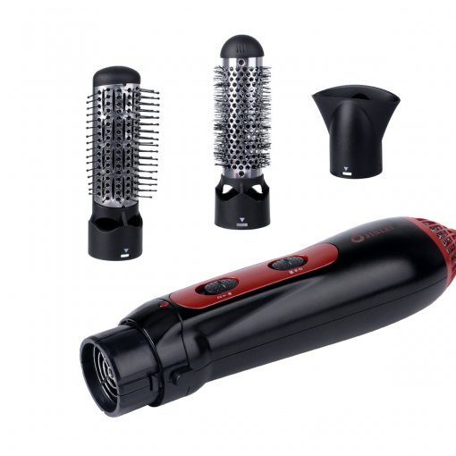 CkeyiN Hair Dryer Machine  Comb Hairdressing Tool 3-in-1 1200W 220-240V Multifunctional Styling Tools