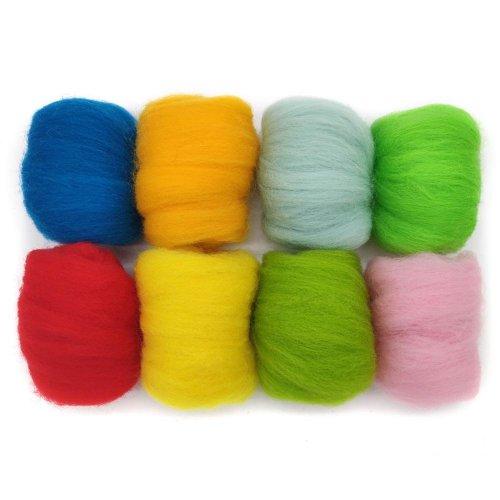 Merino Wool Roving Twist Packs
