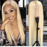 Ulovewigs Pre Plucked Human Virgin Hair color 613 straight and body wave Free Shipping (ULW0013)
