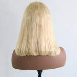 Ulovewigs Pre Plucked Human Virgin Hair color 613 bob wigs  Free Shipping (ULW0017)