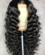 Ulovewigs Human Virgin Hair Loose deep Curl Pre Plucked Lace Front Wig Free Shipping(ULW0025)