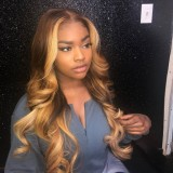Ulovewigs SUMMERELLA Style Pre Plucked Human Hair Lace Feont wigs (ULW0028)