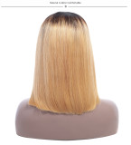Ulovewigs Pre Plucked Human Virgin Hair 27 Color bob wigs  Free Shipping(ULW0022)