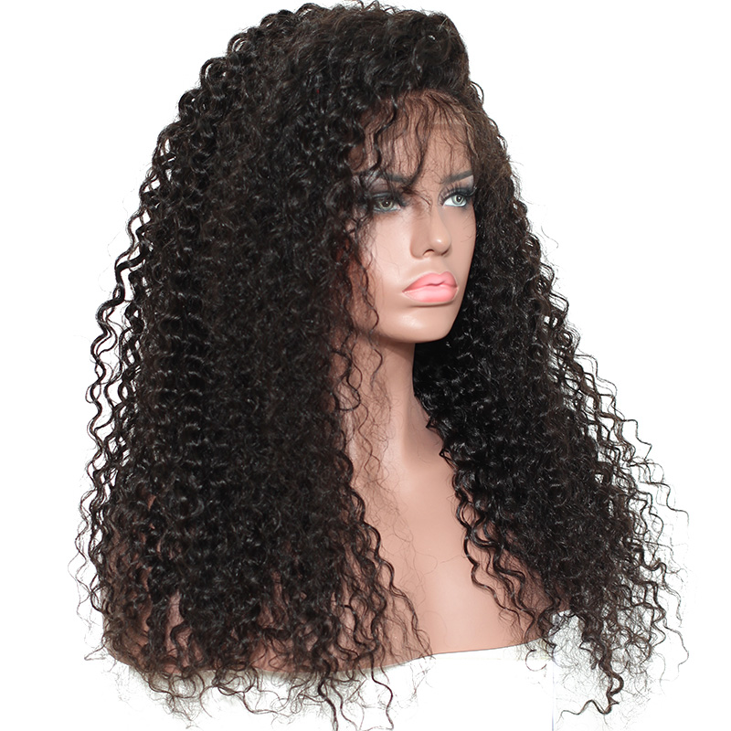 Ulovewigs Human Virgin Hair Curly Pre Plucked 13*4 Lace Front Wig &Full Lace Wig For Black Woman Free Shipping(ULW0036)