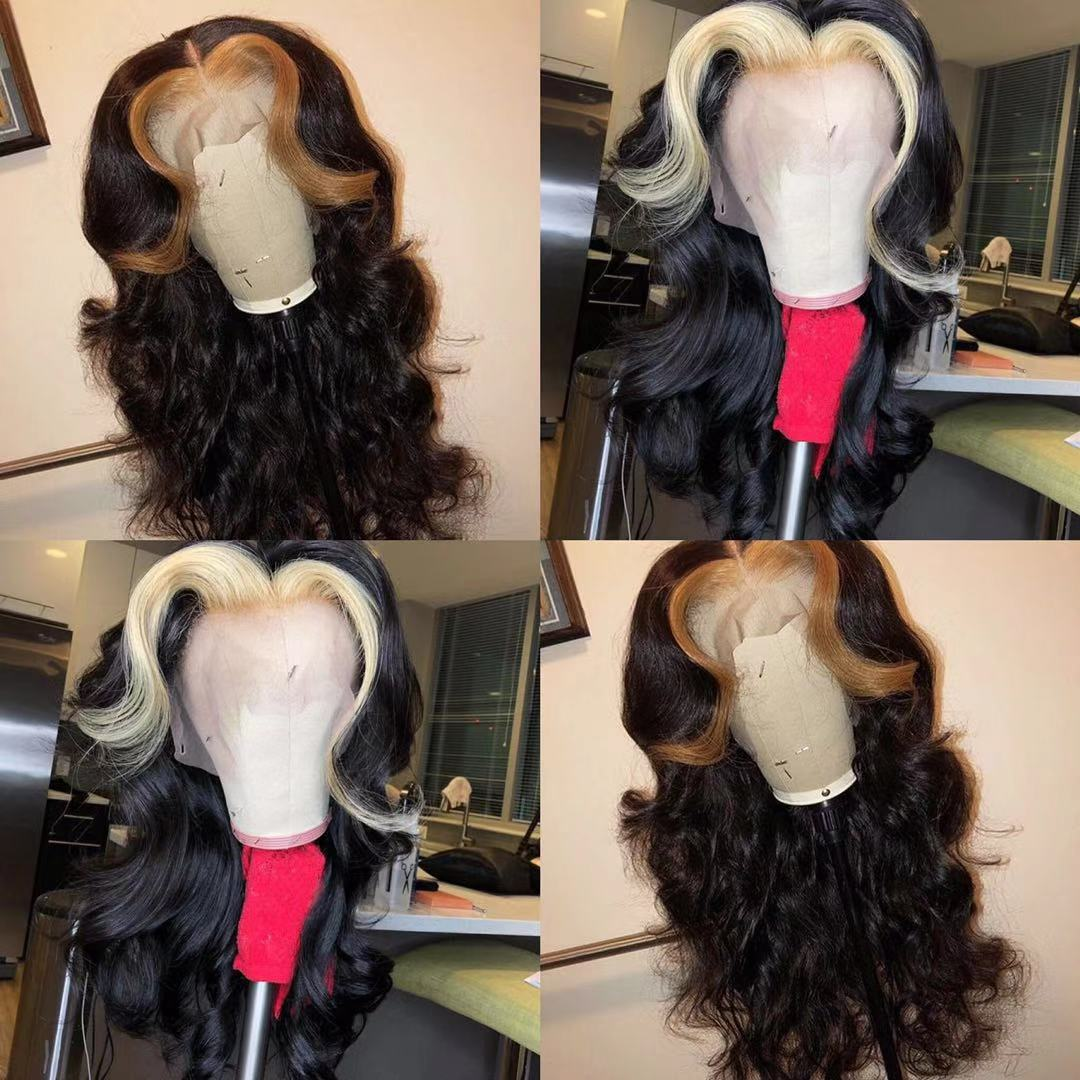 Ulovewigs Human Virgin Hair  Pre Plucked 13*4 Lace Front Wig &Full Lace Wig For Black Woman Free Shipping(ULW0039)